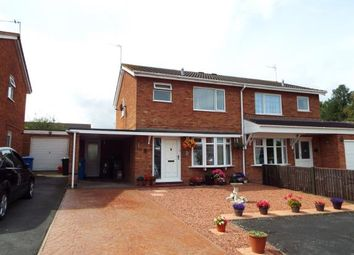 Thumbnail 3 bed semi-detached house for sale in Pillaton Close, Penkridge, Stafford, Staffordshire