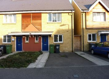 Thumbnail 2 bedroom town house to rent in Robinson Way, Gravesend