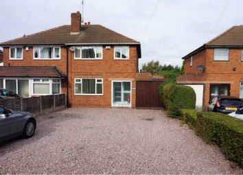Thumbnail 3 bedroom semi-detached house for sale in Lichfield Road, Walsall