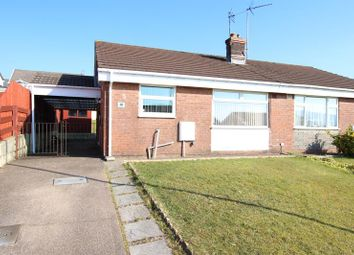 Thumbnail 2 bed semi-detached bungalow for sale in Maes Y Siglen, Caerphilly
