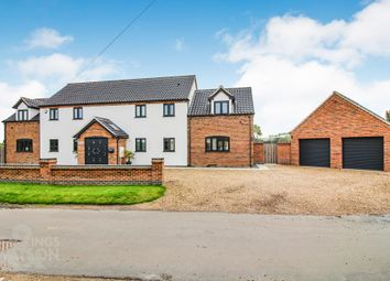 Thumbnail 4 bed detached house for sale in Kings Dam, Gillingham, Beccles