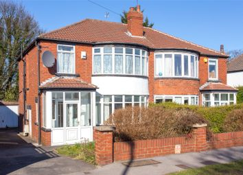 Thumbnail 3 bed semi-detached house to rent in West Park Drive West, Leeds