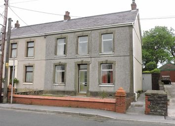 Thumbnail 3 bed semi-detached house for sale in Heol Bryngwili, Cross Hands, Llanelli