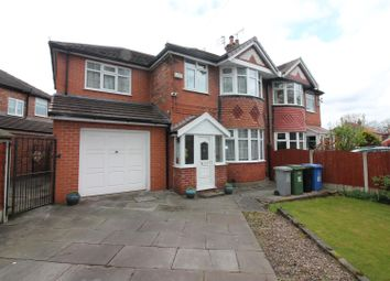 Thumbnail 4 bed property for sale in Lostock Road, Urmston, Manchester