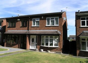 Thumbnail 3 bedroom semi-detached house for sale in Duncroft Walk, Dudley