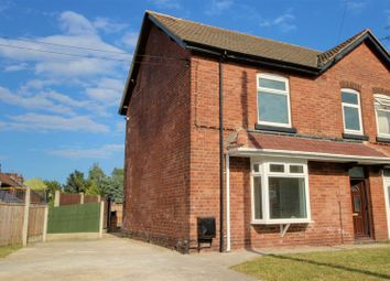 Thumbnail 3 bed semi-detached house for sale in Park, Whinney Lane, New Ollerton, Newark