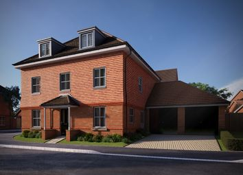 "Thumbnail 5 bed detached house for sale in ""The Chestnut"" at Brimblecombe Close, Wokingham"