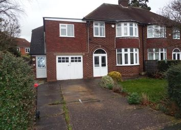 Thumbnail 3 bed semi-detached house for sale in Coleshill Road, Water Orton, Warwickshire, West Midlands