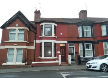 Thumbnail 3 bed terraced house to rent in Downham Road, Tranmere, Birkenhead