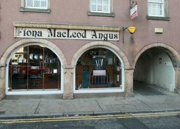 Thumbnail Retail premises for sale in High Street, Elgin