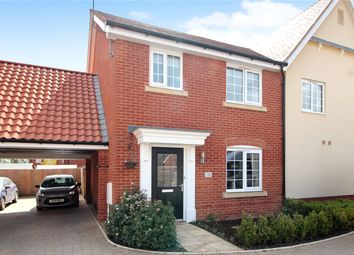 Thumbnail 3 bed semi-detached house for sale in Jermyn Way, Tharston, Norwich, Norfolk