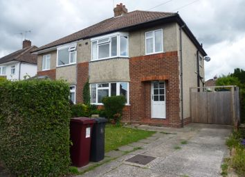 Thumbnail 3 bed property to rent in Oak Avenue, Chichester