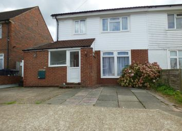 Thumbnail 5 bedroom semi-detached house to rent in Shelley Avenue, Canterbury