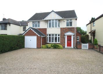 Thumbnail 4 bed detached house for sale in Leicester Road, Hinckley