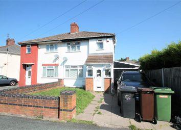 Thumbnail 3 bed semi-detached house for sale in Crathorne Avenue, Wolverhampton