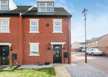 Thumbnail 3 bed town house for sale in 14A Burntwood Road, Grimethorpe, Barnsley