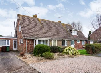 Thumbnail 4 bed semi-detached bungalow for sale in Meadow Way, Westergate, Chichester