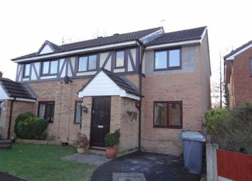 Thumbnail 3 bed semi-detached house for sale in Sheldwich Close, Leigh