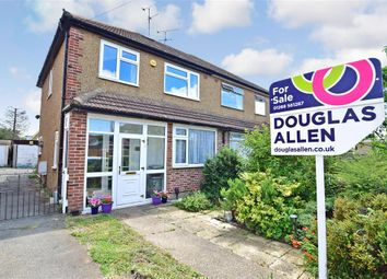 Thumbnail 3 bed semi-detached house for sale in Brook Drive, Wickford, Essex