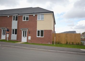 Thumbnail 3 bedroom end terrace house to rent in Limekiln Lane, Off Bailey Road, Arleston, Telford
