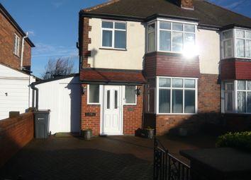 Thumbnail 4 bed semi-detached house for sale in Woodlands Farm Road, Pype Hayes, Erdington, Birmingham