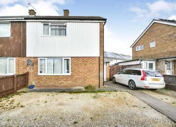 Thumbnail 2 bed semi-detached house for sale in Dulverton Avenue, Swindon