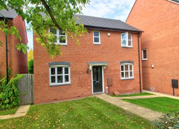 Thumbnail 3 bed detached house for sale in Ashby Grove, Loughborough