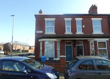 Thumbnail 4 bed end terrace house to rent in Ossory Street, Rusholme, Manchester