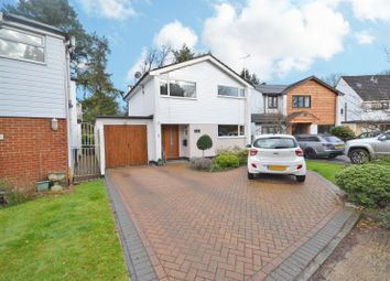 Thumbnail 4 bed detached house for sale in Weyside Close, Byfleet, West Byfleet