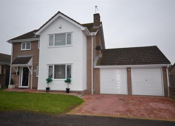 Thumbnail 4 bed detached house for sale in Bassett Road, Sully, Penarth