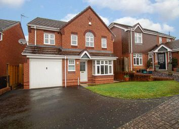 Thumbnail 4 bed detached house for sale in Pennyford Close, Redditch