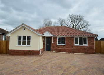 Thumbnail 3 bed detached bungalow for sale in Mill Lane, Hundon, Sudbury