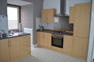 Thumbnail 3 bedroom flat to rent in High Street, Cowdenbeath