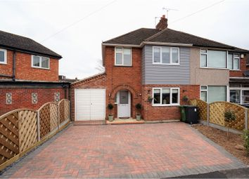 Thumbnail 3 bed semi-detached house for sale in Whitmore Road, Leamington Spa