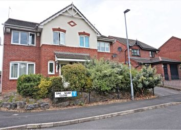 Thumbnail 3 bed semi-detached house for sale in Oakshaw Close, Manchester