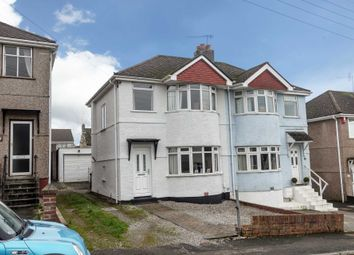 Thumbnail 2 bedroom semi-detached house for sale in Manor Road, Plymstock