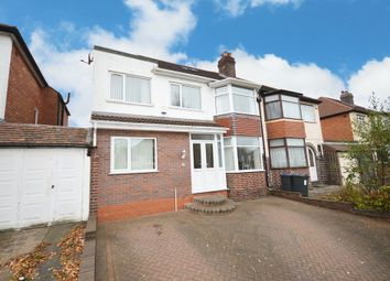 Thumbnail 5 bedroom semi-detached house for sale in Bibury Road, Hall Green, Birmingham