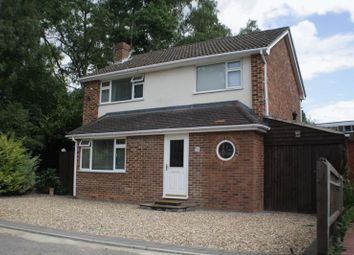 Thumbnail 4 bed detached house for sale in Bodmin Road, Woodley, Reading