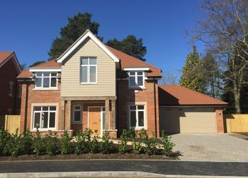 Thumbnail 4 bedroom detached house for sale in Plot 20, New Road, Ferndown, Dorset