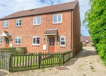 Thumbnail 3 bedroom semi-detached house for sale in Railway Close, Fakenham