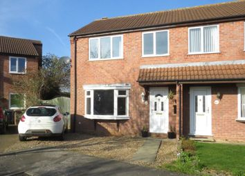 Thumbnail 3 bed semi-detached house for sale in Sandhurst Crescent, Sleaford