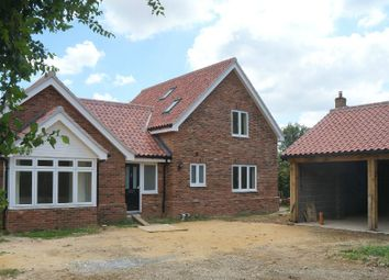 Thumbnail 4 bed detached bungalow for sale in Link Lane, Bentley, Suffolk