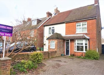 Thumbnail 2 bed semi-detached house for sale in Crawley Road, Horsham