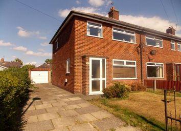 3 bed semi-detached house for sale in Hughes Avenue, Warrington, Cheshire WA2