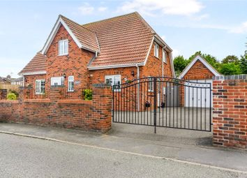 Thumbnail 4 bed detached house for sale in Seadyke Way, Marshchapel