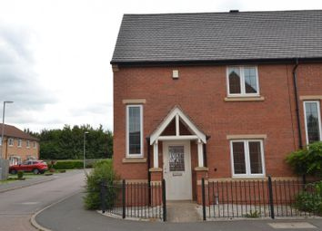 Thumbnail 2 bed end terrace house to rent in Highland Drive, Loughborough