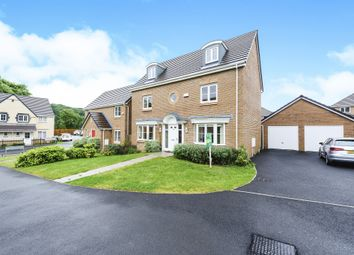 Thumbnail 5 bedroom detached house for sale in Cae Morfa, Skewen, Neath