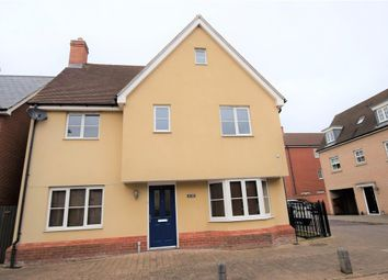 Thumbnail 4 bed detached house to rent in John Mace Road, Colchester
