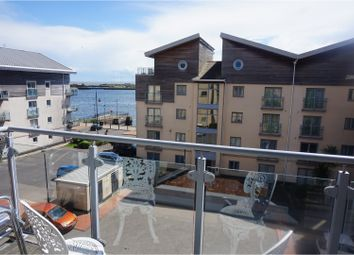 Thumbnail 2 bed flat for sale in Glanfa Dafydd, Barry