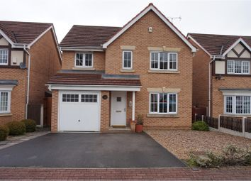 Thumbnail 4 bed detached house for sale in Moat House Way, Doncaster
